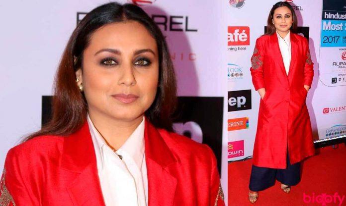 Rani Mukerji Biography