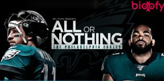 All or Nothing The Philadelphia Eagles web series cast