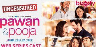 Pawan & Pooja Web series cast