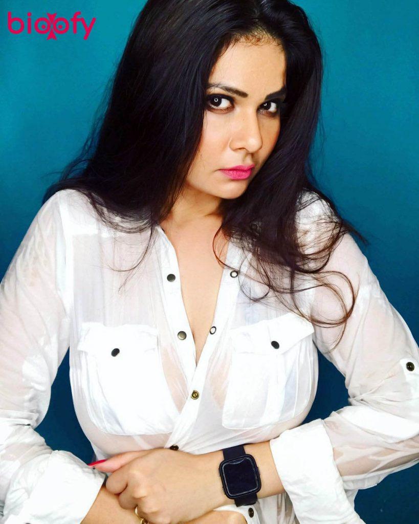 Aabha Paul white dress