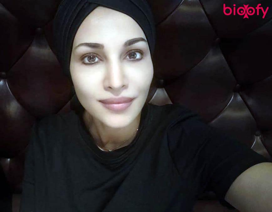 Flora Saini In Black